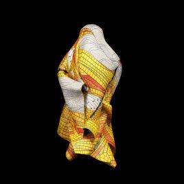 Textil Metamorfosis: Alas amarillas